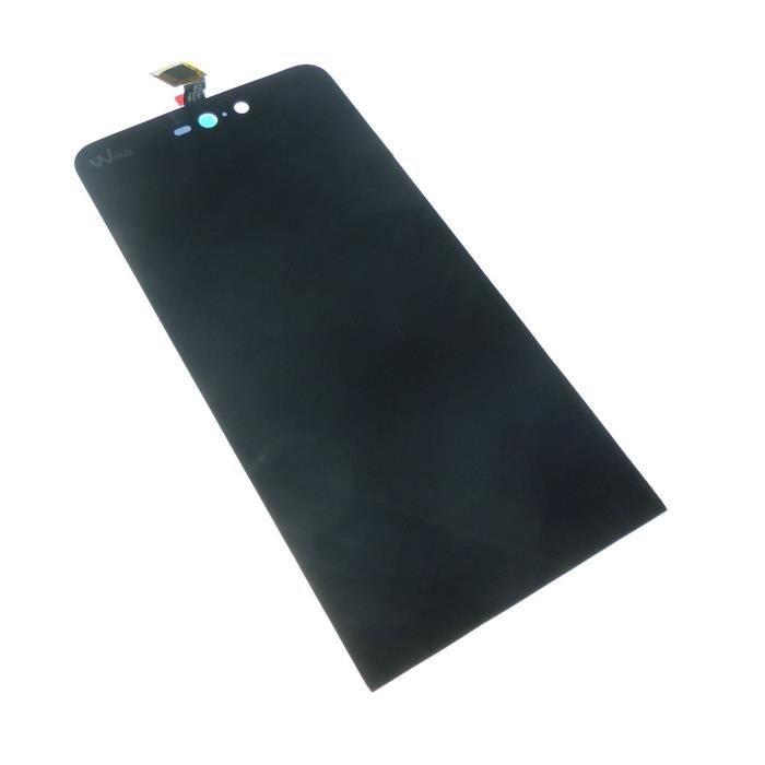 Ecran vitre tactile et LCD assemblés Noir pour Wiko Rainbow JAM