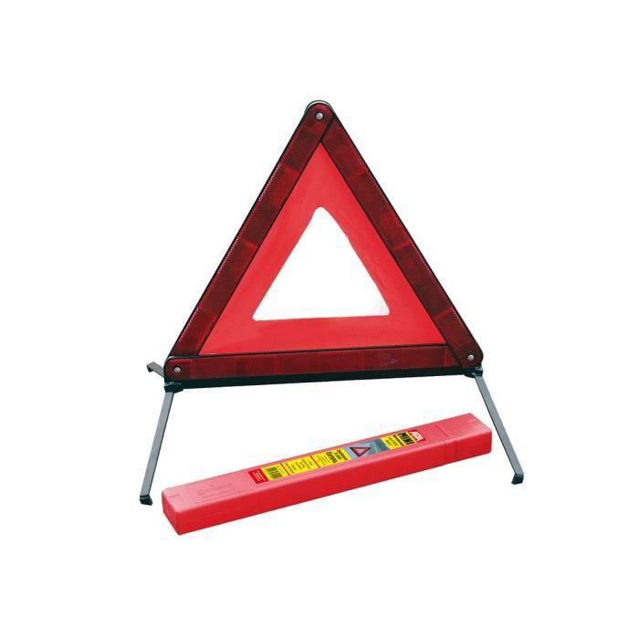 r/éfl/échissant Panneau davertissement Pliable Portable durgence Triangle Panneaux davertissement de Voiture en PVC de s/écurit/é Fournitures