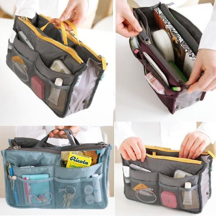 organisateur de sac rangement main organiseur pochette. Black Bedroom Furniture Sets. Home Design Ideas