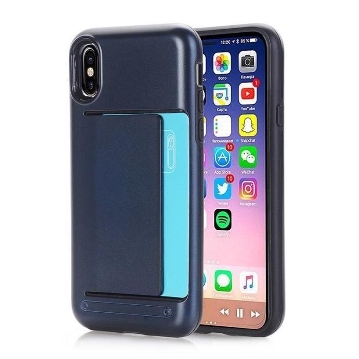 coque iphone 5s porte cartes bleu marine 484x