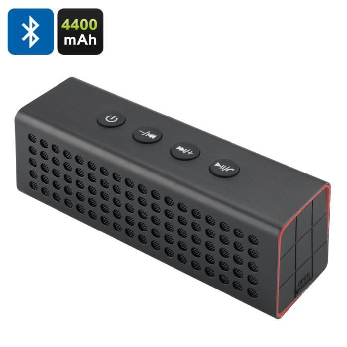 enceinte bluetooth 20w batterie 4400mah micro sd auxilliaire enceintes bluetooth avis et prix. Black Bedroom Furniture Sets. Home Design Ideas