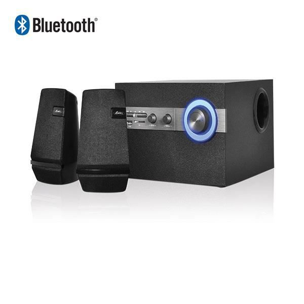 Kit audio 2 1 hp subwoofer syst me bluetooth caisson de basse avis et pr - Systeme audio bluetooth ...