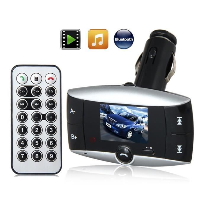 bt 01 1 5 lcd voiture lecteur mp3 avec fm bluetooth 2 0 transmetteur fm avis et prix pas. Black Bedroom Furniture Sets. Home Design Ideas