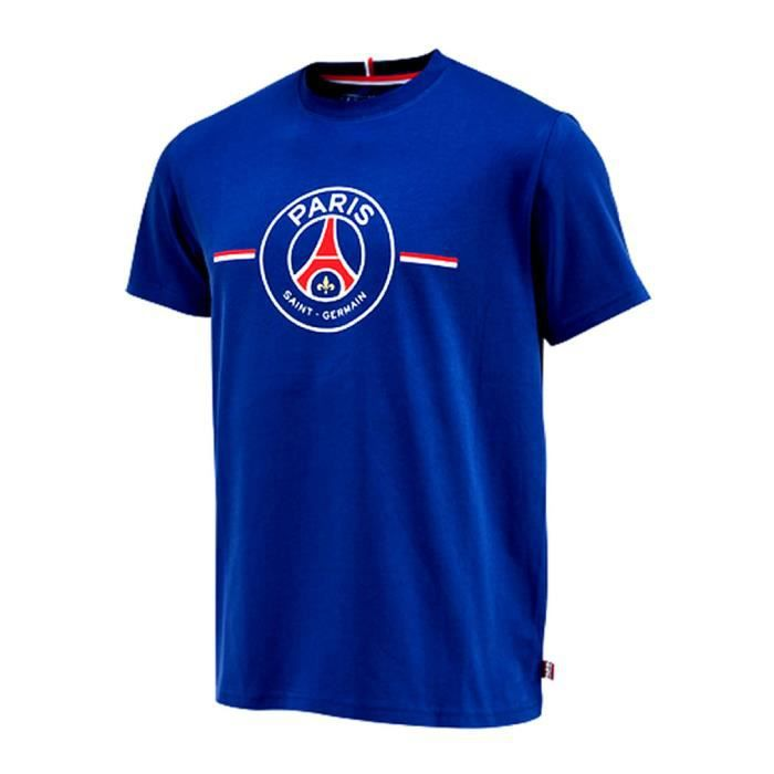 t shirt psg enfant officiel bleu achat vente t shirt. Black Bedroom Furniture Sets. Home Design Ideas