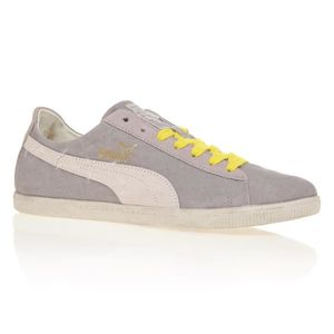 BASKET PUMA Baskets Glyde Canvas Washed Low - Mixte - Gri