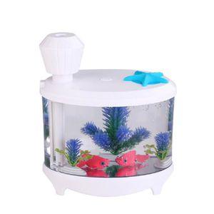 460 Ml Huile Essentiel Aroma Diffuseur d/'air aquarium en forme de USB Humidificateur-Bleu