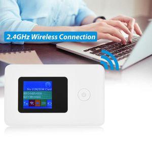 MODEM - ROUTEUR Fihero Routeur WiFi 4G de carte SIM 2.4GHz 150Mbps