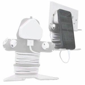 DÉCORATION DE VÉLO Mi Cable Tidy Blanc Passe-cables pour iPhone 3G/3G