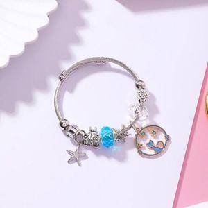 MONTRE Bracelet Cristal DIY Starfish Kitty - Bleu