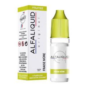 LIQUIDE Eliquide Alfaliquid Saveur Fraise Mure 10ml 6mg