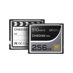 CARTE MÉMOIRE Cinediskpro® CFast 2.0 Carte mémoire 4 K Raw 256 G