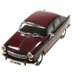 PANHARD 24 BT rouge fonce//blanc 1964 voiture miniature 1//43 collection withebox