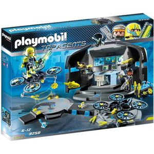 UNIVERS MINIATURE PLAYMOBIL 9250 - Top Agents - Centre de Commandeme