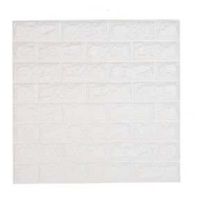 PAPIER PEINT shkax Papier Imitation Brique Blanc Papier Peint E