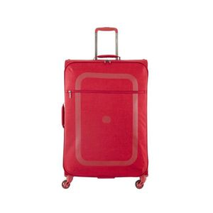 VALISE - BAGAGE Valise souple Dauphine 2 4 roues 77 cm ROUGE 04