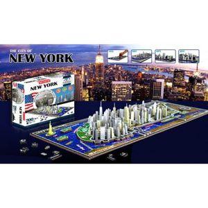 PUZZLE Puzzle 4D Cityscape - 840 pièces : New York, USA
