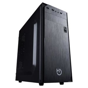 BOITIER PC  Hiditec ATX KLYP, Tour, PC, Synthétique ABS, SECC,