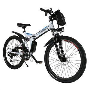 VÉLO ASSISTANCE ÉLEC ANCHEER Vélo électrique Vélo de montagne - VTT hom