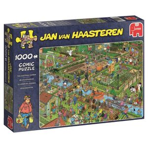 PUZZLE JUMBO 19057 Jan Van Haasteren - Le Jardin de Légum