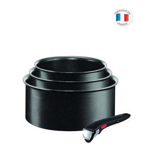 CASSEROLE TEFAL INGENIO EXPERTISE Set de 3 Casseroles L65095