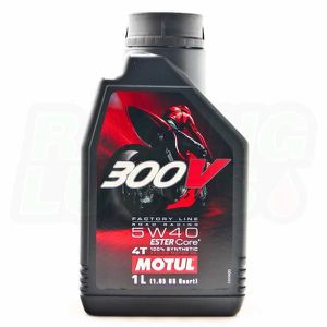 HUILE MOTEUR Motul 300V Factory Line Road Racing 5W40 - Cond...