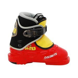 CHAUSSURES DE SKI Chaussure de Ski Junior Dolomite Kid rouge jaune