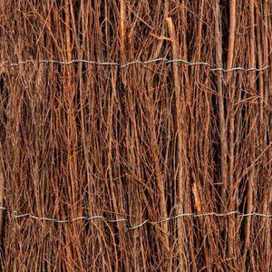 CLÔTURE - GRILLAGE Brise vue brande de bruyère 800g-m2  1,5x3m  Werka