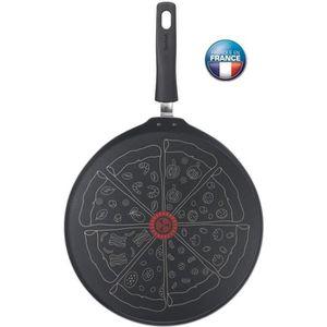 POÊLE - SAUTEUSE TEFAL Poêle à pizza 32 cm Tous feux sauf induction