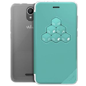 HOUSSE - ÉTUI Wiko Smart Folio WiCUBE Bleen Harry