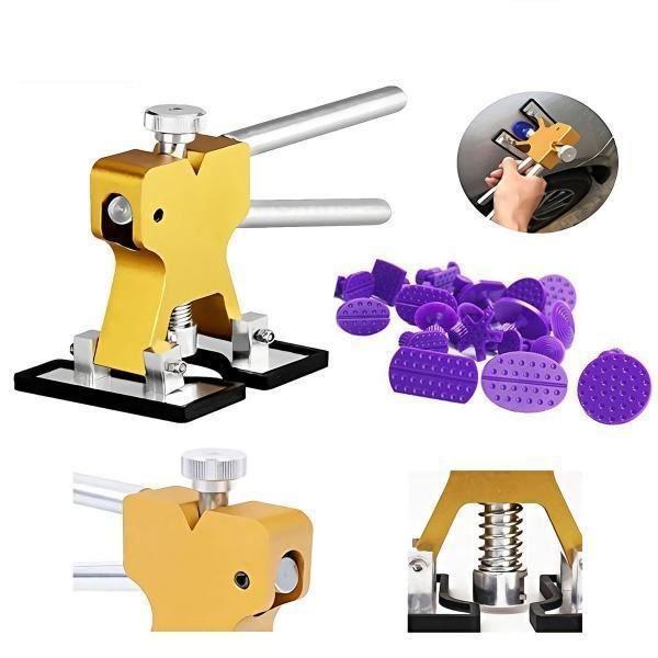 25pcs Kit de Debosselage voiture PDR-outils de réparation de Dent sans peinture Kits d'extracteur de Dent automatique, WM2