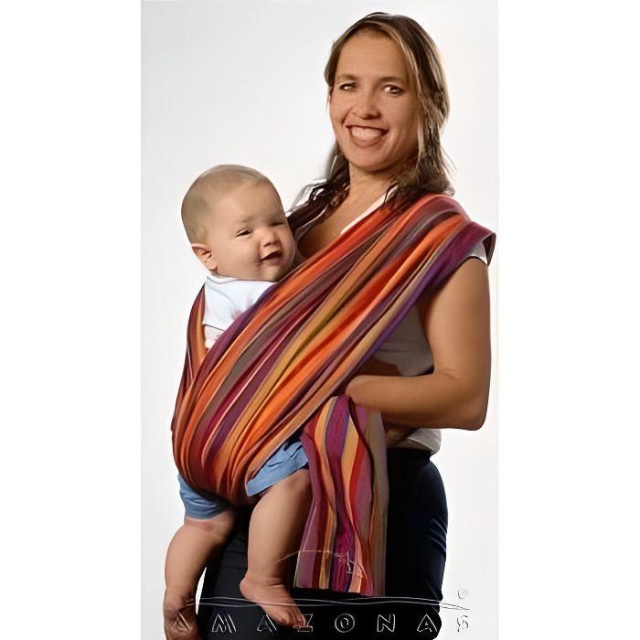 Echarpe porte bébé LOLLIPOP Amazonas 4,50 m