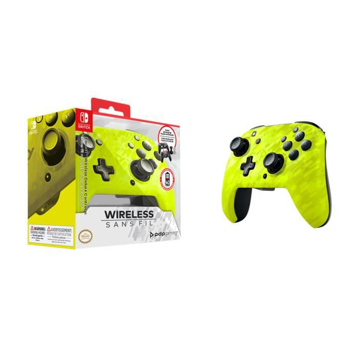 Official Faceoff Deluxe+ Wireless Yellow Controller NEW CAMO