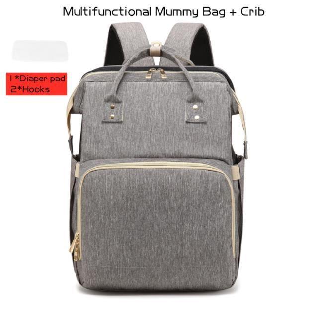 Sac à couches maman et papa sac à dos multifonctionnel sac de lit pour bébé sac de transport de soins de maternité sac de poussette
