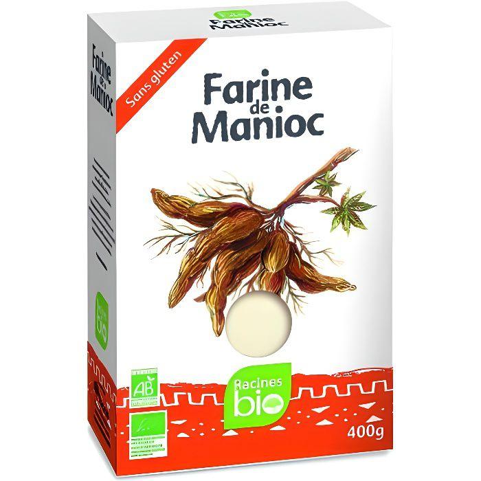 Farine de manioc bio 400gr