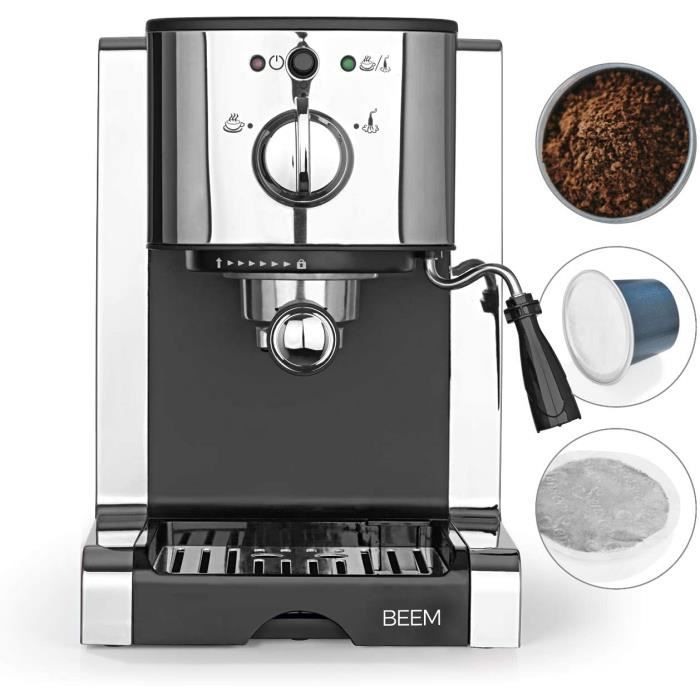 MACHINE ESPRESSOPERFECT portefiltre espresso 20 bars Espresso Cappuccino Latte Macchiato en qualiteacute barista Insert pour c532