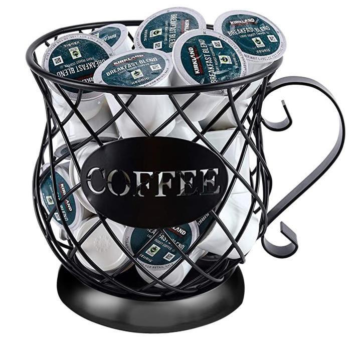 Set Accessoire Cuisine Support De Stockage Dosette Café En Forme Tasse Pour Le Comptoir LY18