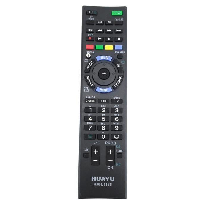 TéLéCommande Universelle RM-L1165 pour TéLéViseur LCD LED Sony Bravia RM-YD102 RM-YD103