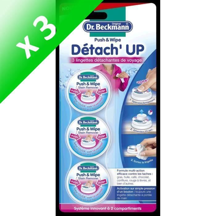 DR BECKMANN Détachant de poche Détach'up (Lot de 3)