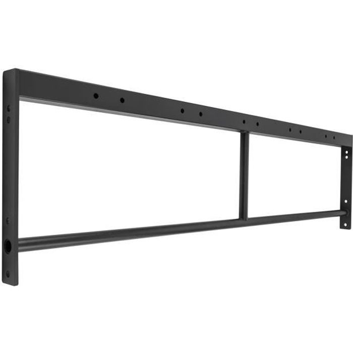 Capital Sports Double Bar 168 Double barre de traction 168 cm métal noir