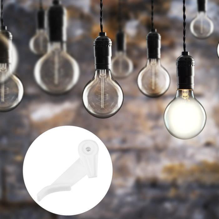 50 ensembles de plafonniers boucles de plafond Shade Clips Accessoires abat-jour vendu seul luminaire d'interieur