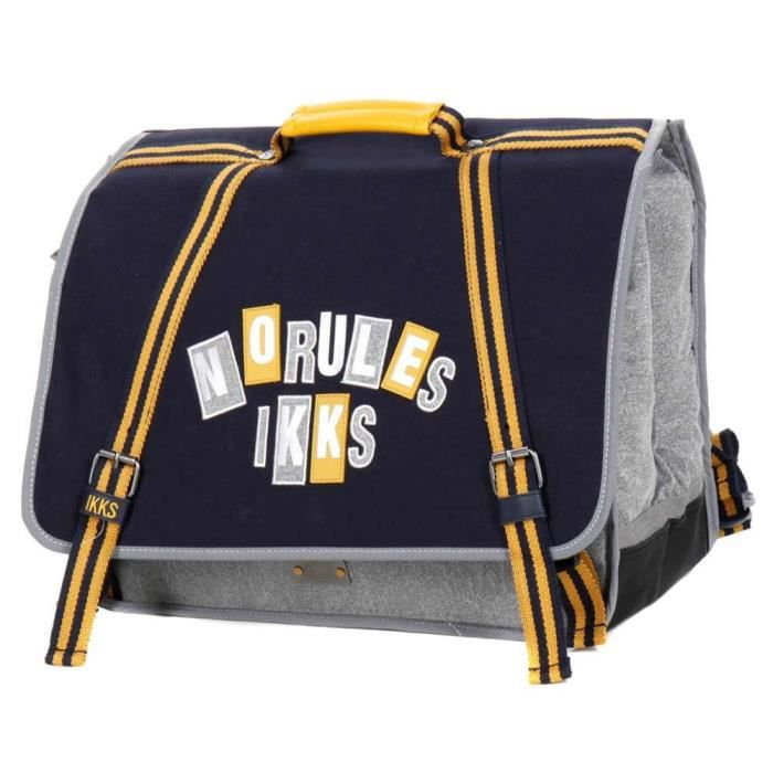 Cartable IKKS Kings Bleu 41 CM