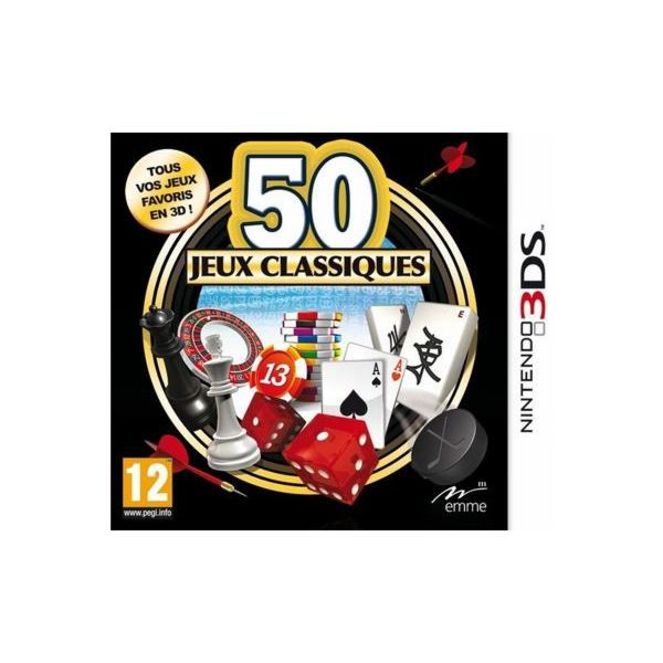 Jeux DS MICRO APPLICATION 50 Jeux classi