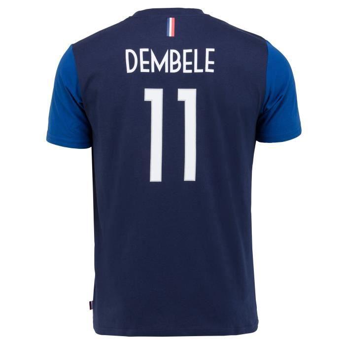 T-shirt FFF - Ousmane DEMBELE - Collection officielle Equipe de France de Football