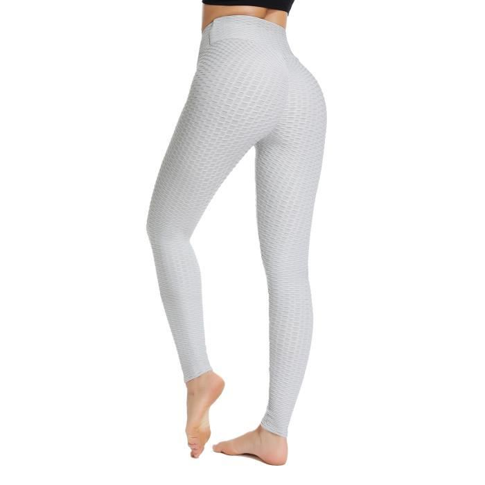 STARBILD Femmes Leggings de Sport Anti-Cellulite Pantalon de Compression Push Up Taille Haute Fesse Remontée Yoya Fitness