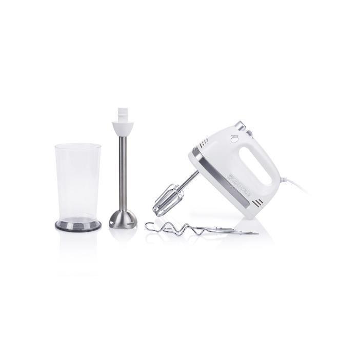 NOVA 220160 Batteur électrique et mixeur plongeant - Blanc