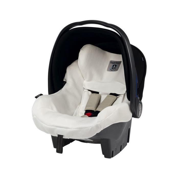 Peg Perego 8005475349502, Protection de siège enfant pour voiture, Primo Viaggio SL, Blanc, Tissu, Fibre, Lavage à la main, CE
