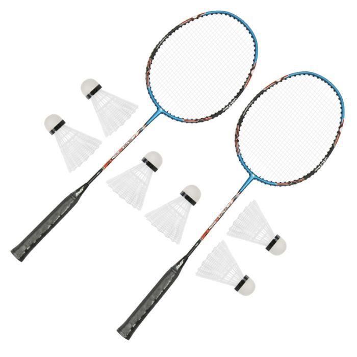 1 Set Adultes Enfants Pratique Badminton raquettes Avec des Boules kit badminton - pack badminton - ensemble badminton badminton