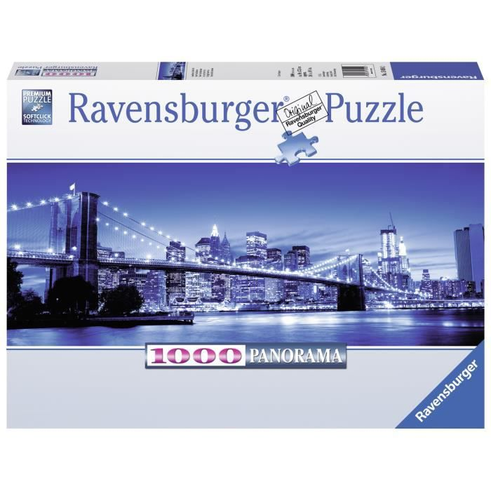 Puzzle 1000 pcs New York Illuminé