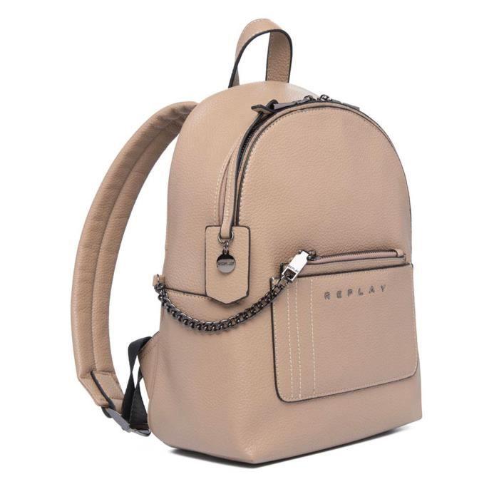 REPLAY Backpack Dirty Beige [106647]