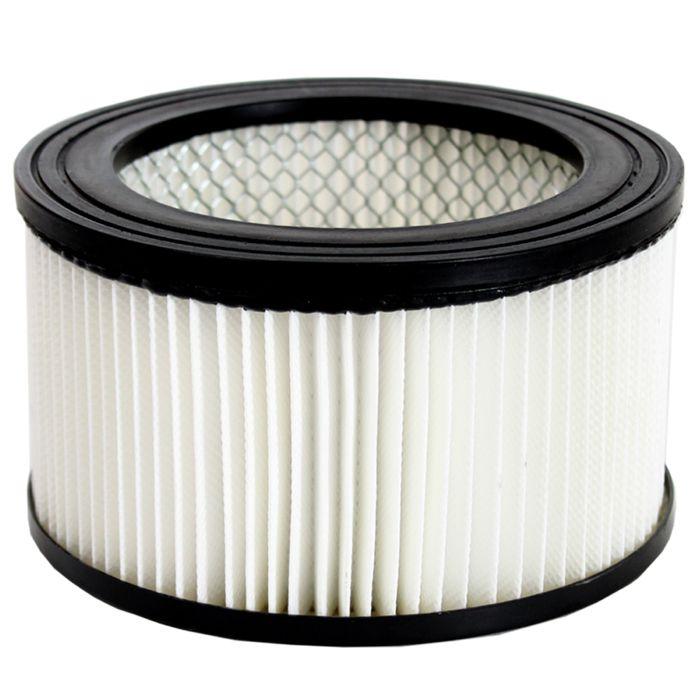 TECTAKE Filtre pour Aspirateur à Cendres 16 cm x 9 cm
